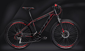 "Велосипед LTD Rocco 760 Black-Red 27.5"" (2020)"