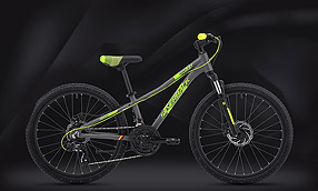 "Велосипед SILVERBACK Skid 24"" Suspension Grey-Green (2020)"