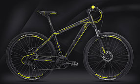 "Велосипед LTD Rebel 730 Black-Neon 27.5"" (2021)"