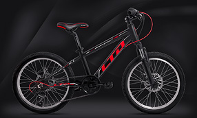 Велосипед LTD Bandit 240 Black-Red (2020)