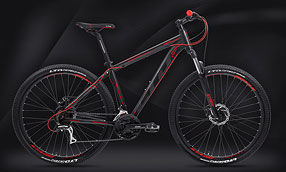 "Велосипед LTD Rebel 750 Black-Red 27.5"" (2021) - ОЖИДАЕТСЯ"