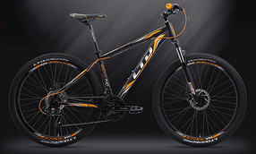 "Велосипед LTD Rocco 740 Black-Orange 27.5"" (2019)"