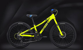 "Велосипед SILVERBACK Skid 24"" Rigid Lime-Blue (2020)"