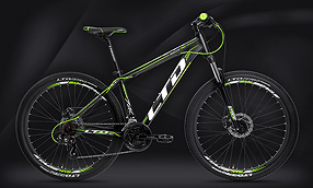 "Велосипед LTD Rocco 740 Black-Green 27.5"" (2020)"