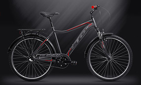 Велосипед LTD Cruiser 640 Graphite-Red (2019)