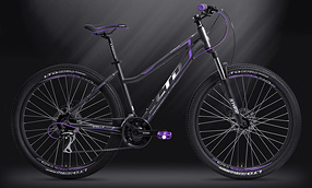 Велосипед LTD Stella 760 Graphite-Purple (2019)