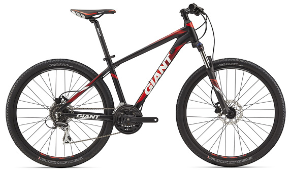 "Велосипед GIANT Rincon Disc Red 27,5"" (2018)"