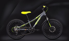 "Велосипед SILVERBACK Skid 20"" Grey-Lime (2020)"