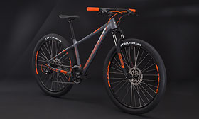 "Велосипед SILVERBACK Stride Sport Gray-Orange 29"" (2020)"