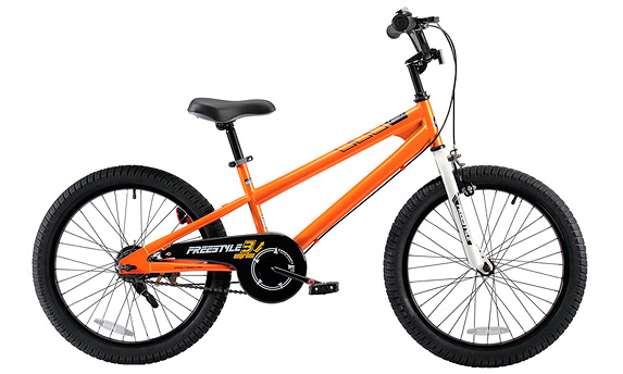 "Велосипед BMX Junior RoyalBaby Freestyle 20"" Orange (2018)"