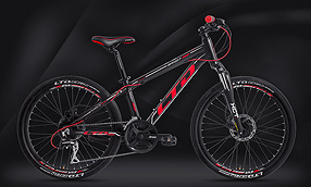 Велосипед LTD Bandit 460 Black-Red (2020)