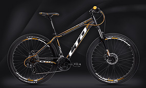 "Велосипед LTD Rocco 740 Black-Orange 27.5"" (2020)"