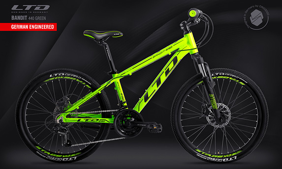Велосипед LTD Bandit 440 Green (2020)