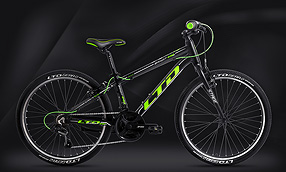 Велосипед LTD Bandit 440 Lite Black-Green (2020)